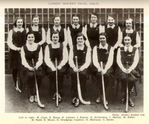 Hockey Ladies Team 1936-37