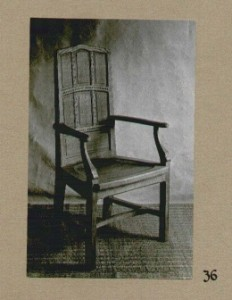 Chair designed by Peter Waals