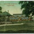 An early postcard of Loughborough Baths.