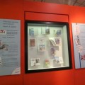The current Ladybird exhibition at Charnwood Museum.