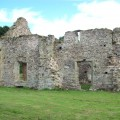 The ruins of one of the buildings of Grace Dieu priory