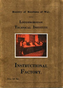 Instructional Factory brochure cover - 1918