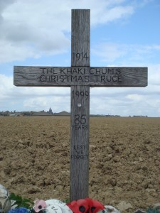 Christmas Truce cross