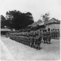 Sikh troops on guard in grounds of summer palace near Peking, China. Image sourced from the Library of Congress Prints and Photographs Division, Washington, D.C.