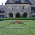 Cecilienhof 1945 Conference Centre (with Stalin's red star in flowers)