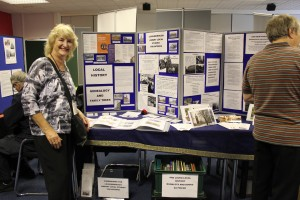 The Local Studies Volunteer's display at the Network's recent Community History Day