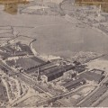 An aerial view of the Brush Falcon Works site on Nottingham Road in the late 1940s/early 1950s