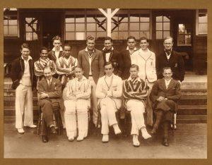 Cricket Firstst XI, 1933