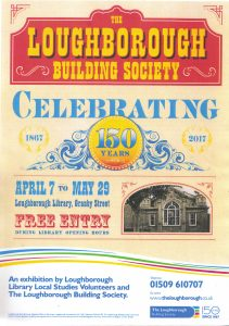 loughborough Building Society lbs 150 poster